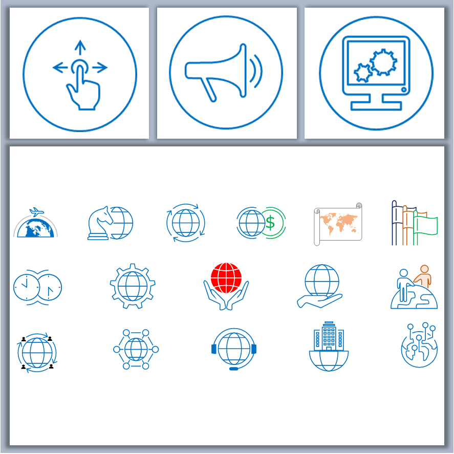 Business Icons Template